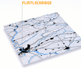 3d view of Flintlock Ridge