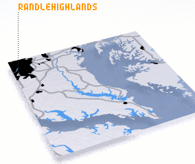 3d view of Randle Highlands