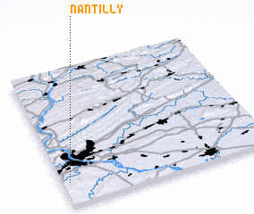 3d view of Nantilly