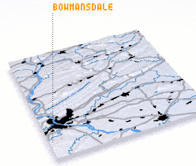 3d view of Bowmansdale