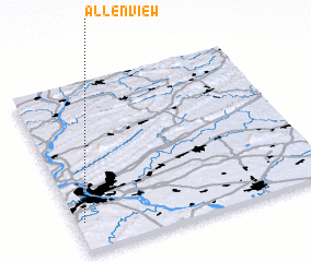 3d view of Allenview