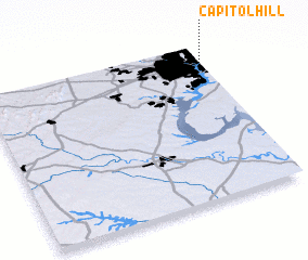 3d view of Capitol Hill