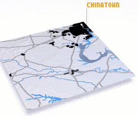 3d view of Chinatown