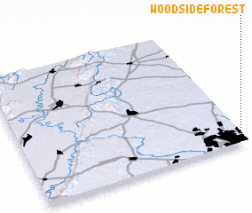 3d view of Woodside Forest