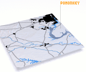 3d view of Pomonkey