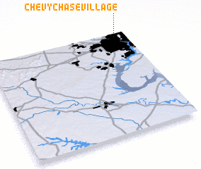 3d view of Chevy Chase Village