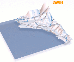 3d view of Saume