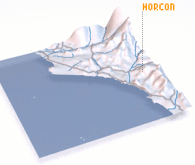 3d view of Horcón