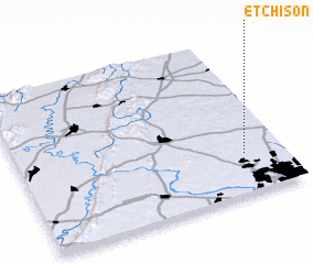 3d view of Etchison