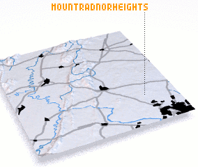 3d view of Mount Radnor Heights