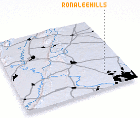 3d view of Ronalee Hills