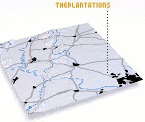 3d view of The Plantations