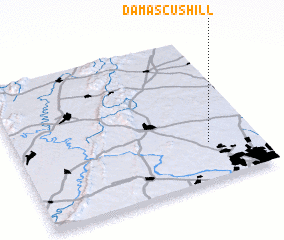 3d view of Damascus Hill