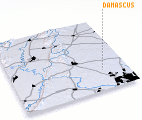 3d view of Damascus