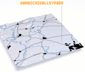 3d view of Damascus Valley Park