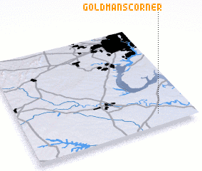 3d view of Goldmans Corner