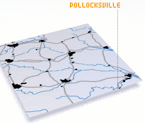 3d view of Pollocksville
