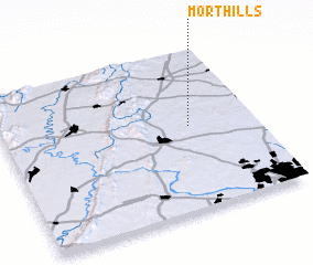 3d view of Mort Hills
