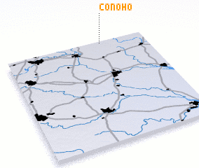 3d view of Conoho