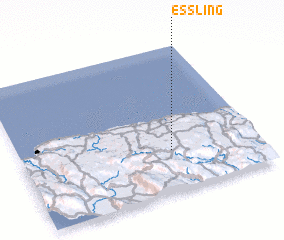 3d view of Essling