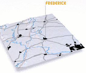 3d view of Frederick