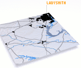 3d view of Ladysmith