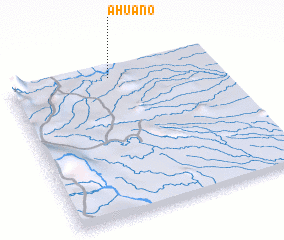 3d view of Ahuano