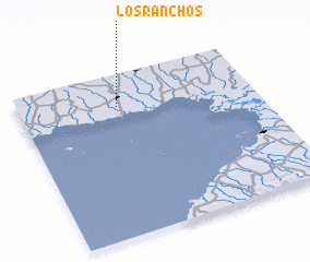 3d view of Los Ranchos