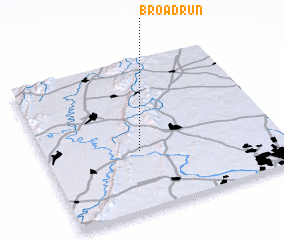 3d view of Broad Run