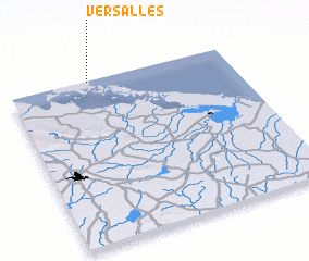 3d view of Versalles