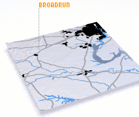 3d view of Broad Run