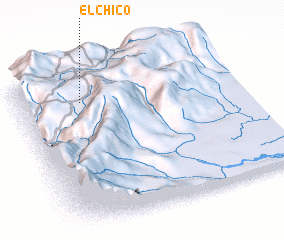 3d view of El Chico