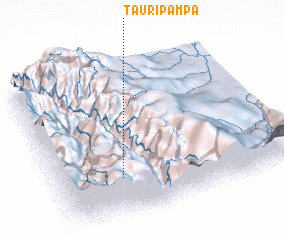 3d view of Tauripampa