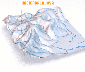 3d view of Hacienda La Joya