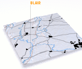 3d view of Blair