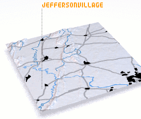3d view of Jefferson Village