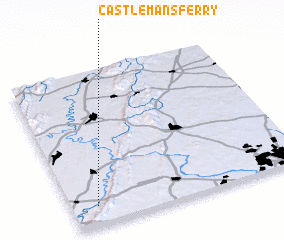 3d view of Castlemans Ferry