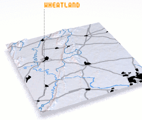 3d view of Wheatland