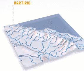 3d view of Martírio