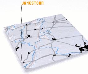 3d View Of Jamestown