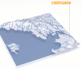 3d view of Chepigana