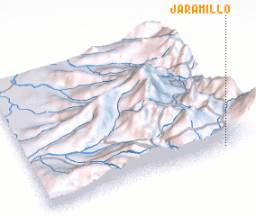 3d view of Jaramillo