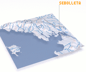 3d view of Sebolleta