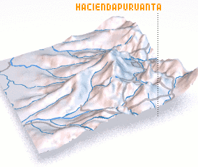 3d view of Hacienda Puruanta