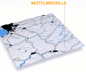 3d view of West Clarksville