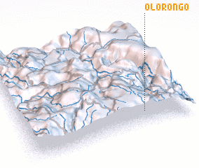 3d view of Olorongo