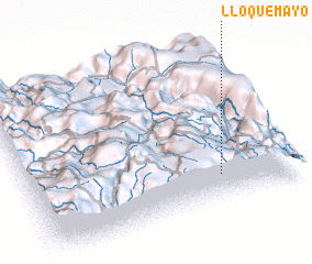 3d view of Lloquemayo