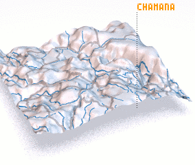 3d view of Chamana