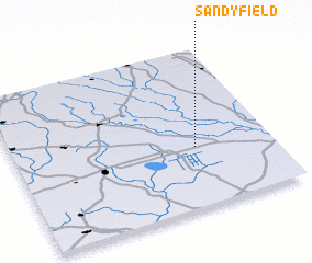 3d view of Sandyfield