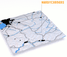 3d view of Hardy Corners